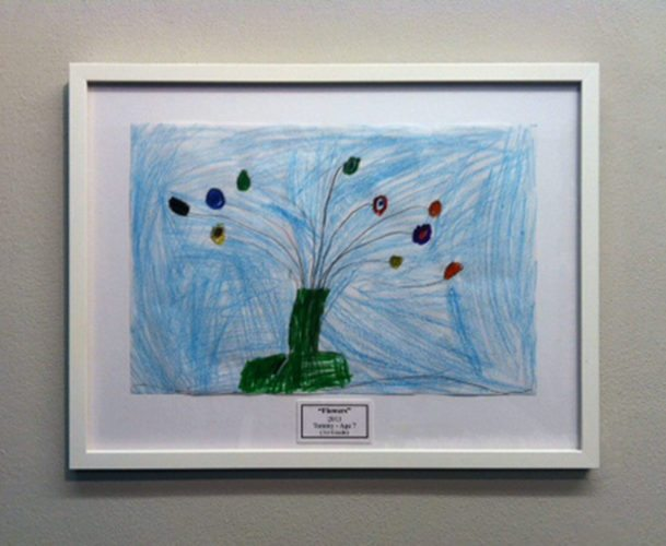"""Flowers"" Kids Art"