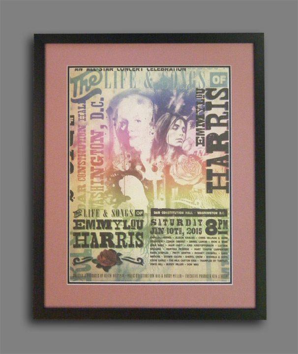 Emmylou Harris Concert Poster