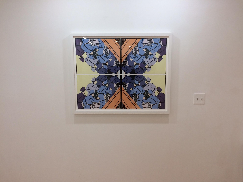 Custom framed art by Matthew Borgen
