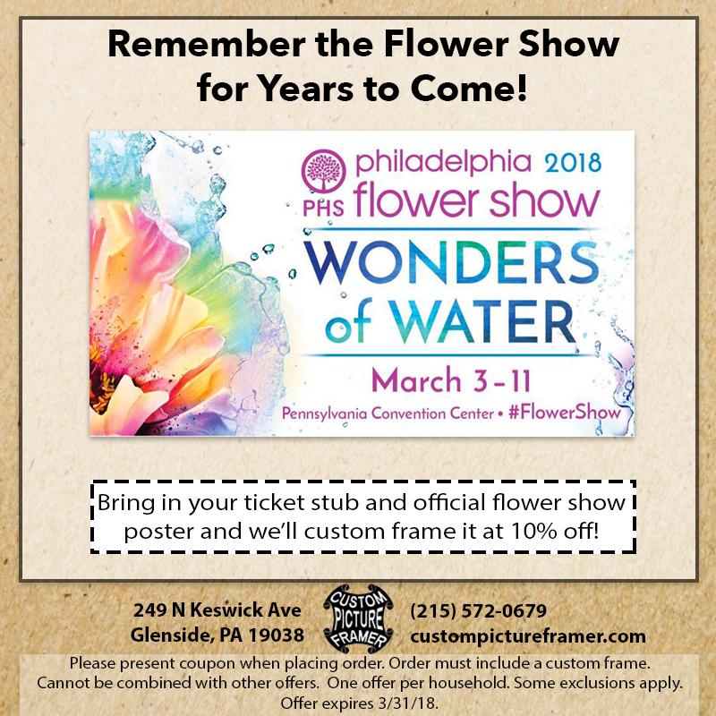 Philadelphia Flower Should Coupon