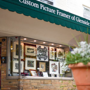 "TWIG is ""The Window In Glenside"" and is the exhibition space of Custom Picture Framer of Glenside. We're located at N. Keswick Avenue between N. Easton Road & Abington Avenue in Keswick Village, Glenside, PA 19038."